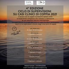4° Edizione Ciclo di supervisioni sui casi clinici di coppia 2021